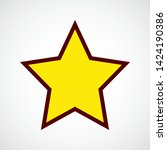 rating star. vector color icon