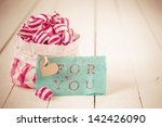 Red And White Striped Candy In...