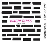 mini washi tape strips or washy ... | Shutterstock .eps vector #1424314499