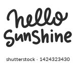 summer lettering composition.... | Shutterstock .eps vector #1424323430