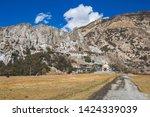 monastery in braka. himalayan...   Shutterstock . vector #1424339039