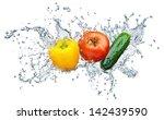 Juicy Tomato  Cucumber  Pepper...