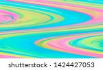 rainbow colored abstract... | Shutterstock . vector #1424427053