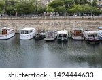 paris  france   may 21  2019 ... | Shutterstock . vector #1424444633
