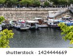 paris  france   may 21  2019 ... | Shutterstock . vector #1424444669