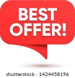 sale discount badge... | Shutterstock .eps vector #1424458196