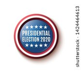american presidential election... | Shutterstock . vector #1424464613