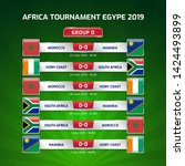 scoreboard broadcast template...   Shutterstock .eps vector #1424493899