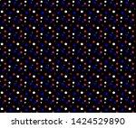 simple multi colored small dot... | Shutterstock .eps vector #1424529890