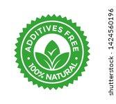 additives free vector logo...   Shutterstock .eps vector #1424560196