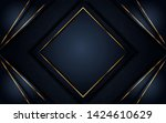 dark black textured layer...   Shutterstock .eps vector #1424610629