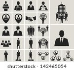 business and office people ... | Shutterstock .eps vector #142465054