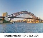 sydney harbour bridge   Shutterstock . vector #142465264