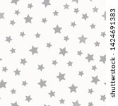 A Simple Star Pattern. White...