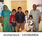 nawalgarh  rajasthan india feb...   Shutterstock . vector #1424868806