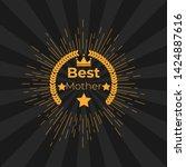 emblem  for best family. best...   Shutterstock . vector #1424887616