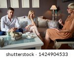 psychologist listening about...   Shutterstock . vector #1424904533