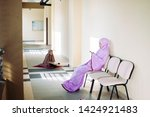 islamic concept of female...   Shutterstock . vector #1424921483