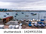 cascais  portugal docks and... | Shutterstock . vector #1424931536