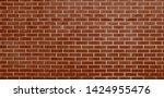brick wall  brown bricks wall...   Shutterstock . vector #1424955476