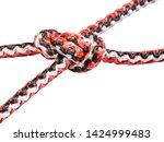 hunter's bend knot close up... | Shutterstock . vector #1424999483