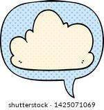 cartoon cloud with speech... | Shutterstock .eps vector #1425071069