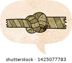 cartoon knotted rope with... | Shutterstock .eps vector #1425077783