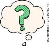 cartoon question mark with... | Shutterstock .eps vector #1425078749