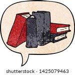 cartoon books with speech... | Shutterstock .eps vector #1425079463