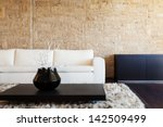 interior luxury apartment ... | Shutterstock . vector #142509499
