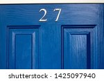House Number 27 On A Bright...