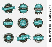 collection of premium quality... | Shutterstock .eps vector #142511974