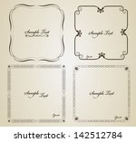 Decorative Vintage Frame Set