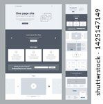 landing page website design...