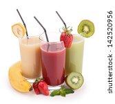 isolated fruit juice | Shutterstock . vector #142520956