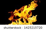 3d fire and  ball and  candil...   Shutterstock . vector #1425215720