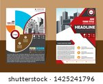 cover design is used for...   Shutterstock .eps vector #1425241796