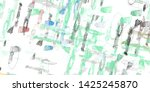 2d illustration. abstract... | Shutterstock . vector #1425245870
