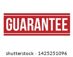 guarantee rubber stamp. red... | Shutterstock .eps vector #1425251096