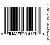 bar code. vector illustration. | Shutterstock .eps vector #142531510