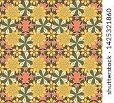 glitter seamless pattern.... | Shutterstock .eps vector #1425321860