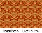 raster golden elements for... | Shutterstock . vector #1425321896