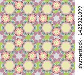 green  gray and beige pattern... | Shutterstock . vector #1425321899