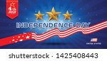 independence day flag of united ... | Shutterstock .eps vector #1425408443