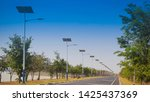 Solar Street Light Lamp Post...