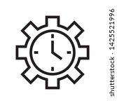 productivity icon in trendy...