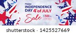 fourth of july sale long... | Shutterstock .eps vector #1425527669