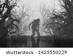 Monster In Creepy Forest 3d...