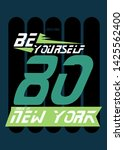 new york be yourself t shirt... | Shutterstock .eps vector #1425562400