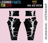 leggings pants fashion with... | Shutterstock .eps vector #1425562469